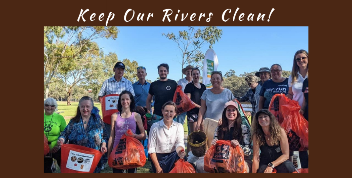 KEEP OUR RIVERS CLEAN EVENT 25 JULY 2021