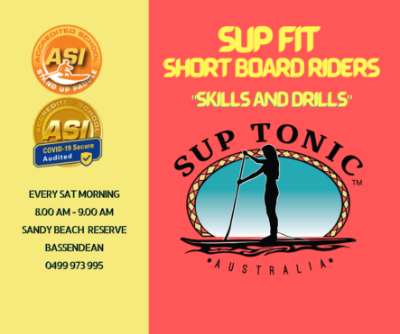 SUP FIT – SHORT BOARD RIDERS