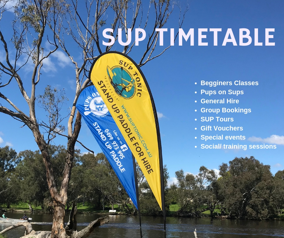 SUP TIMETABLE WEEK ENDING SUNDAY 28th APRIL