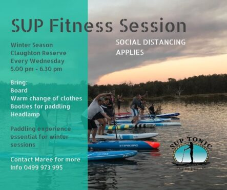 WEDNESDAY SUP TRAINING