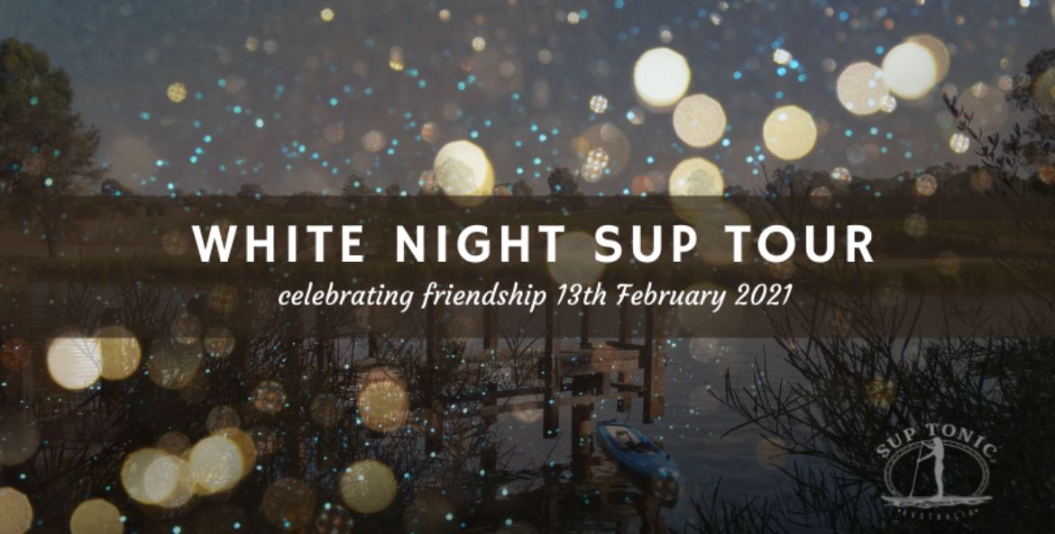 WHITE NIGHT SUP AND DINNER TOUR