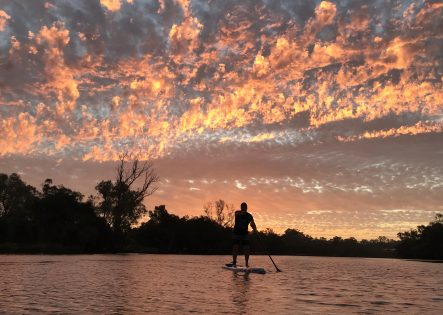 Stand Up Paddle at Twilight