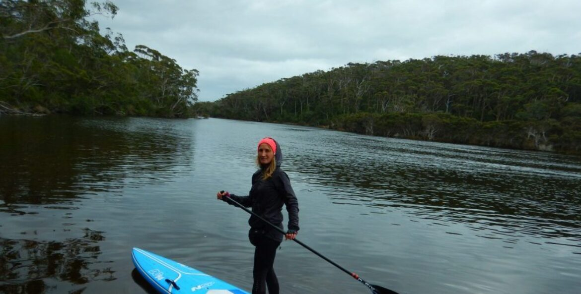 Love Winter Paddling