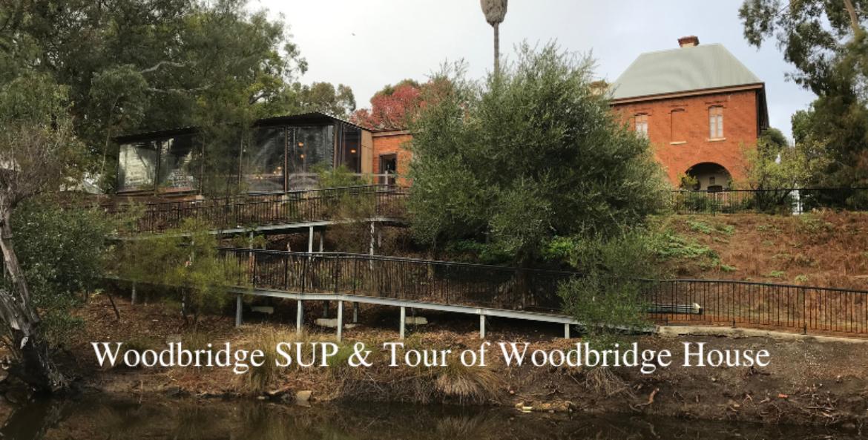 Woodbridge SUP and Tour of Historical Woodbridge House